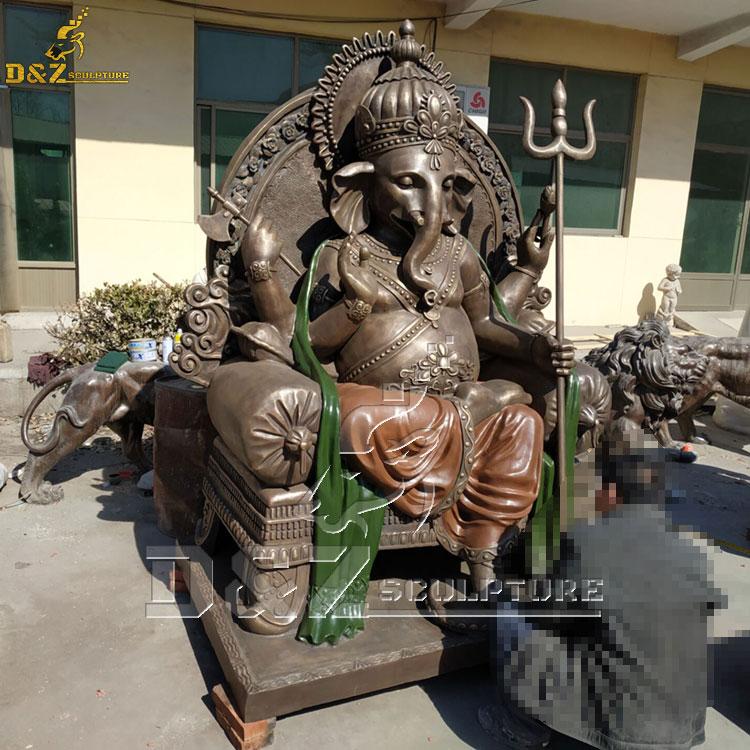 outdoor large ganesh garden statue