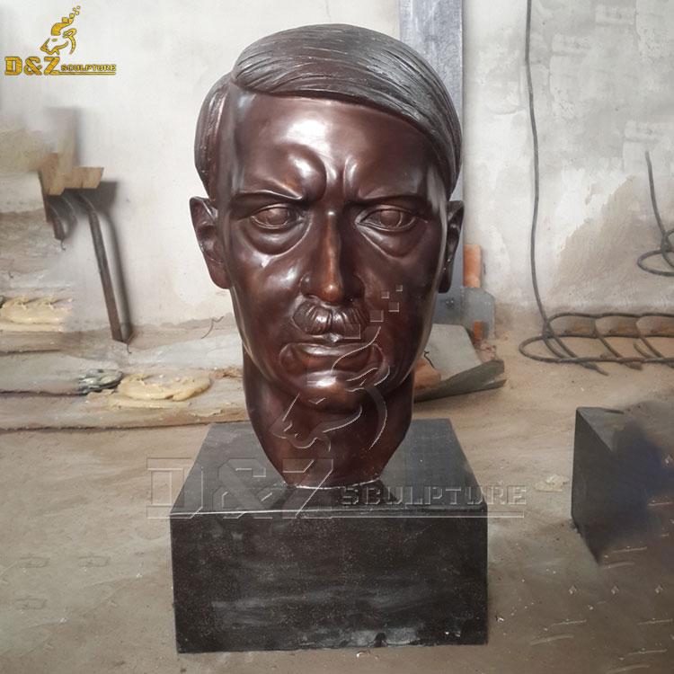 Bronze Hitler bust for sale