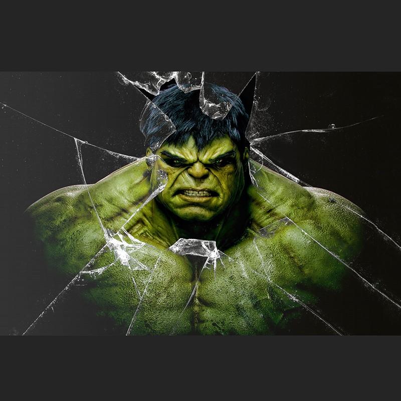 incredible hulk statue