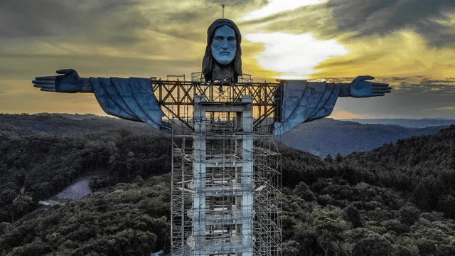 Brazil will build a new giant jesus statue taller than in Rio