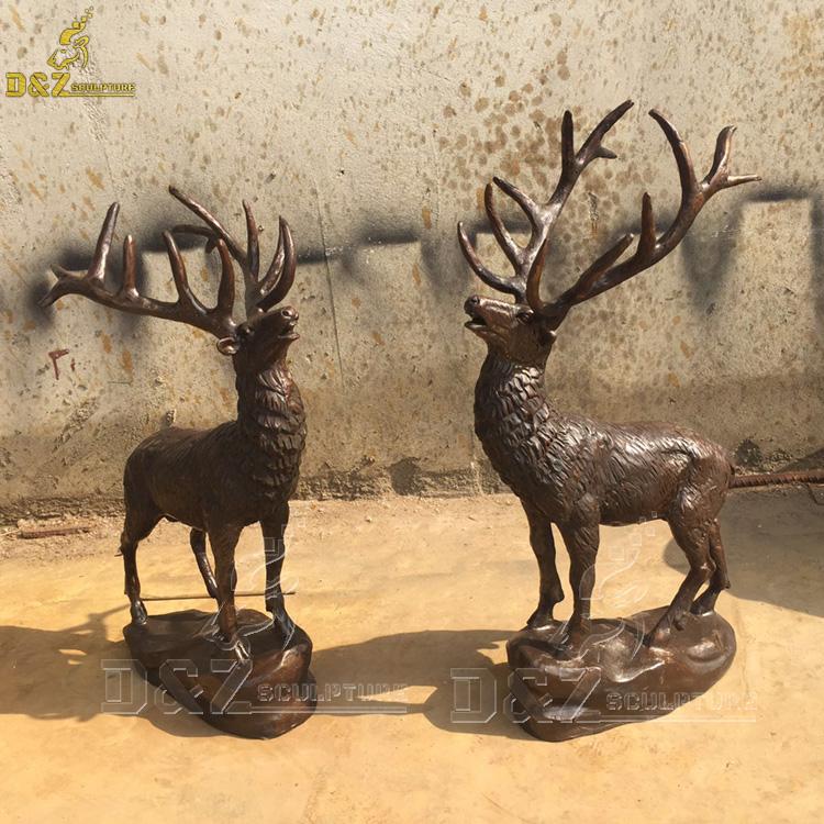 elk garden Statue