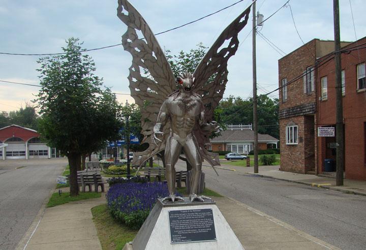 west virginia mothman statue