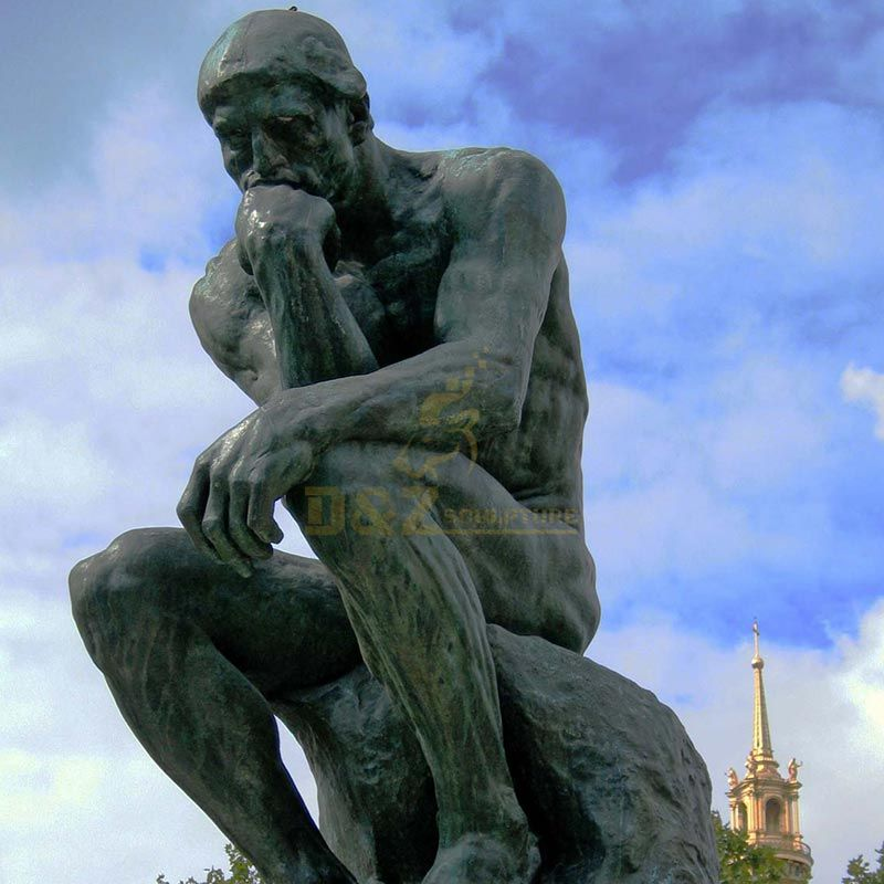 Thinker Auguste Rodin Museum Paris 1904