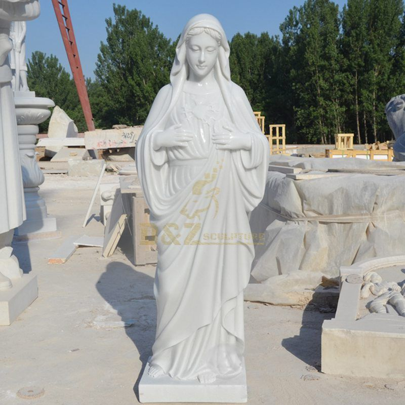 Religious Crafts Virgin Mary Sculpture