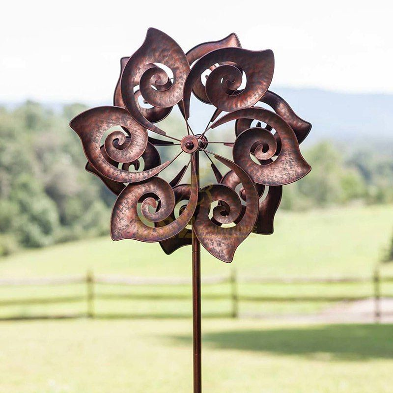 Large Outdoor Metal Art Corten Steel Circle Sculpture For Sale