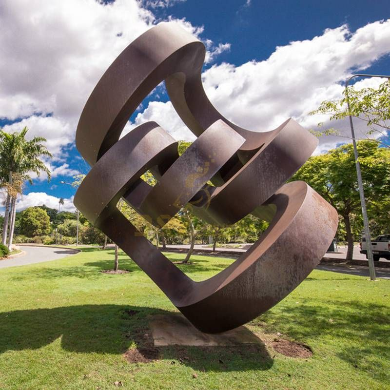 Popular Design Garden Corten Steel Sculpture