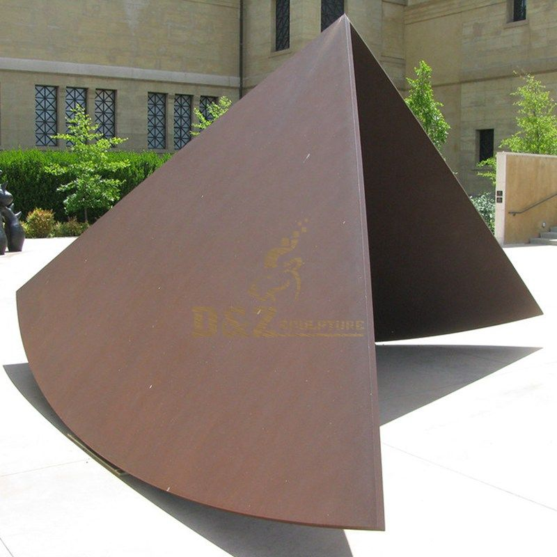 modern abstract metal garden decoration stainless steel statue