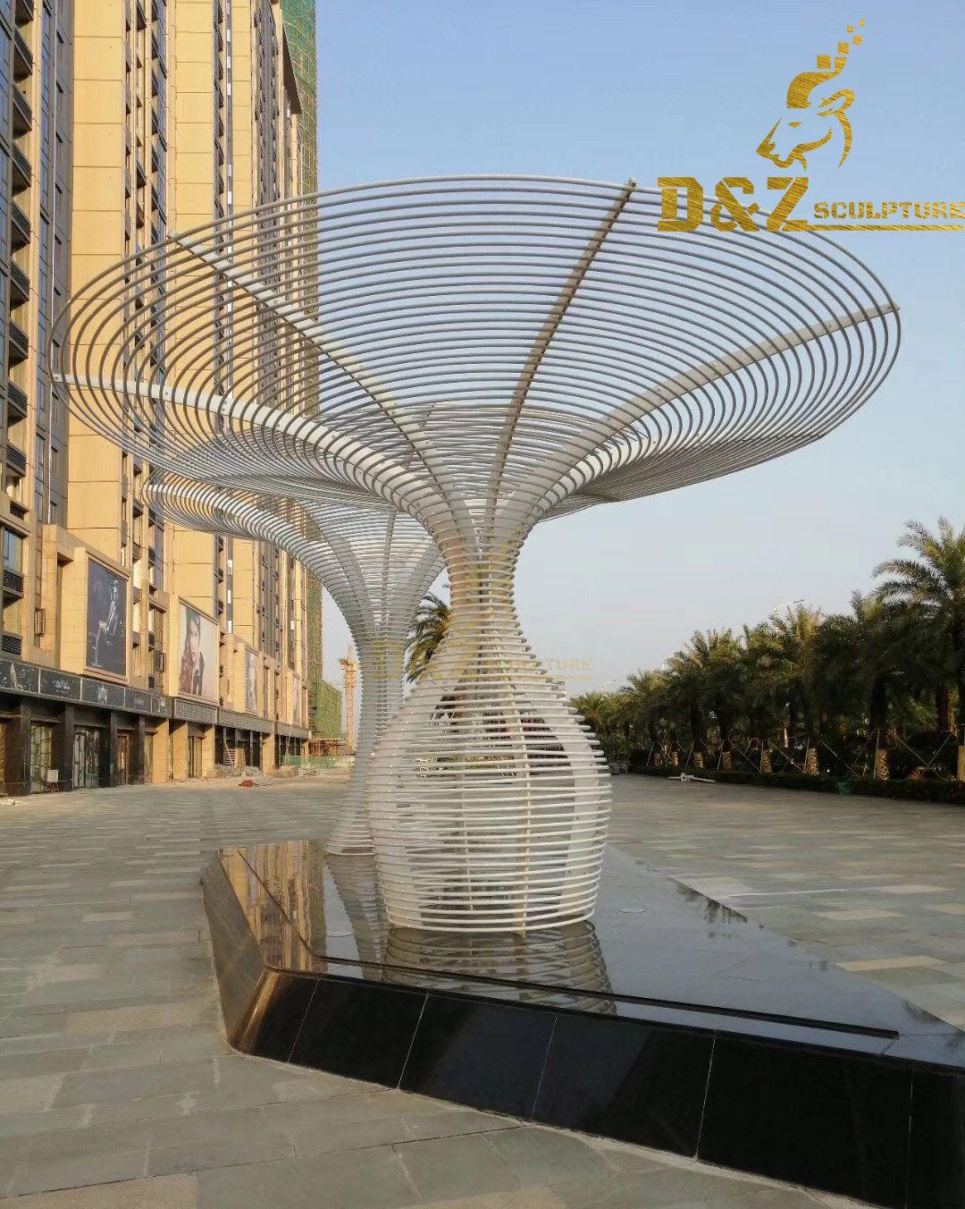 Tree Stainless Steel Sculptures