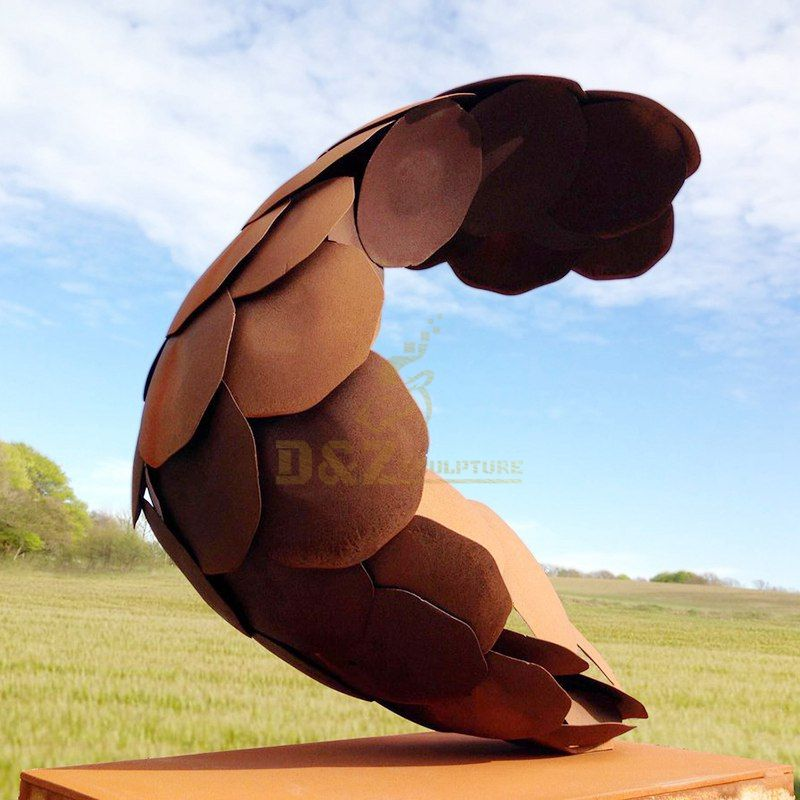 Corten Steel Decorative Metal Art Modern Abstract Sculpture