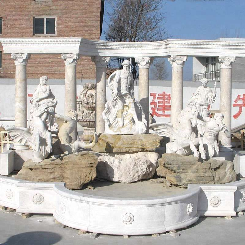 Customized Garden Decoration Large Di Trevi Fountain