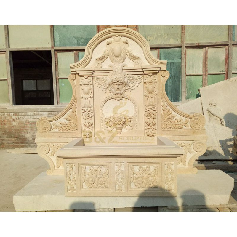 Lion Head Wall Fountain For Outdoor Decoration