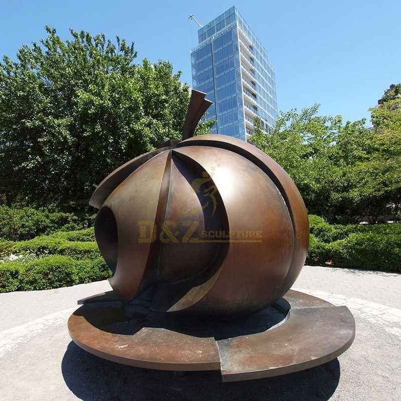 Outdoor Garden Abstract Corten Steel Sculptures
