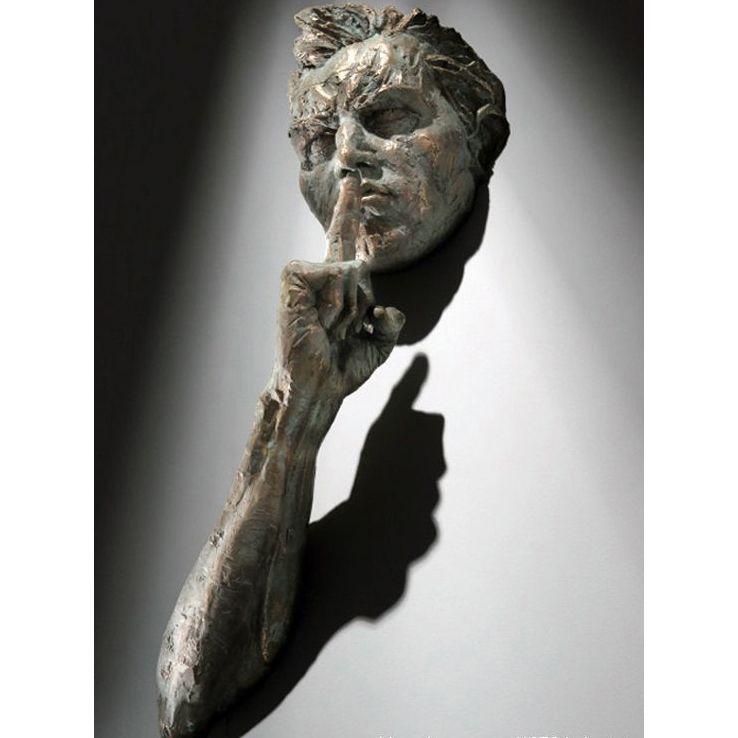 Body Art Wall Sculpture