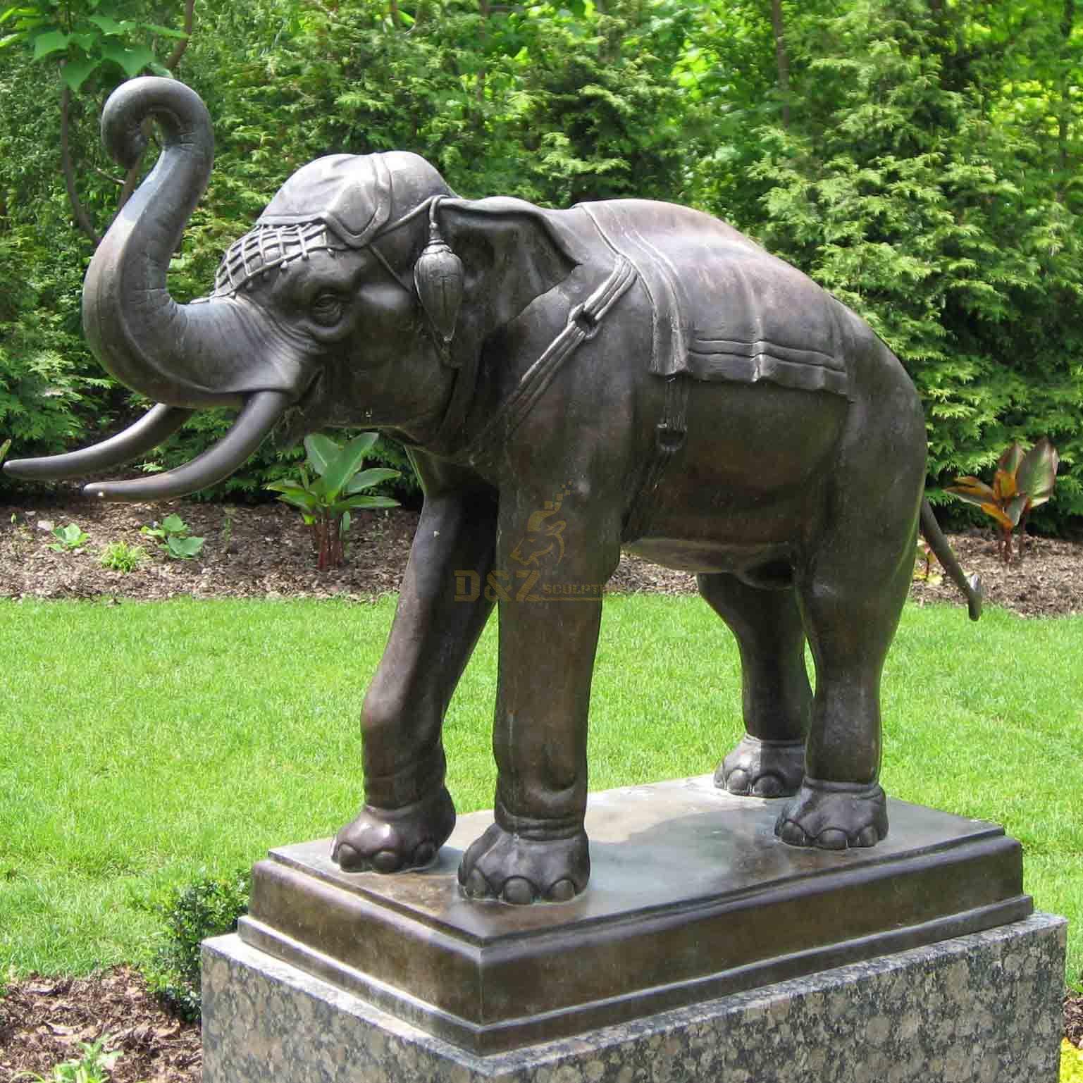 large elephant sculpture