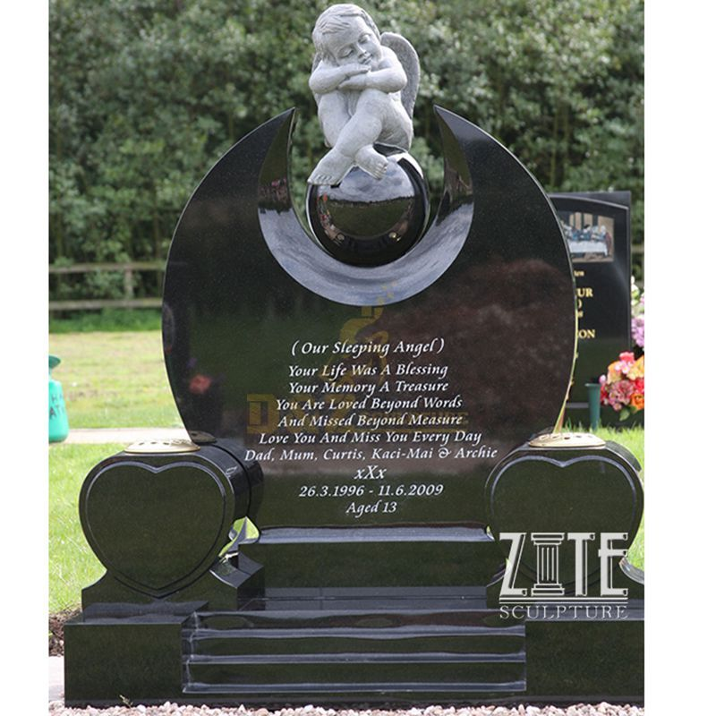 Cemetery Baby Angel Tombstone