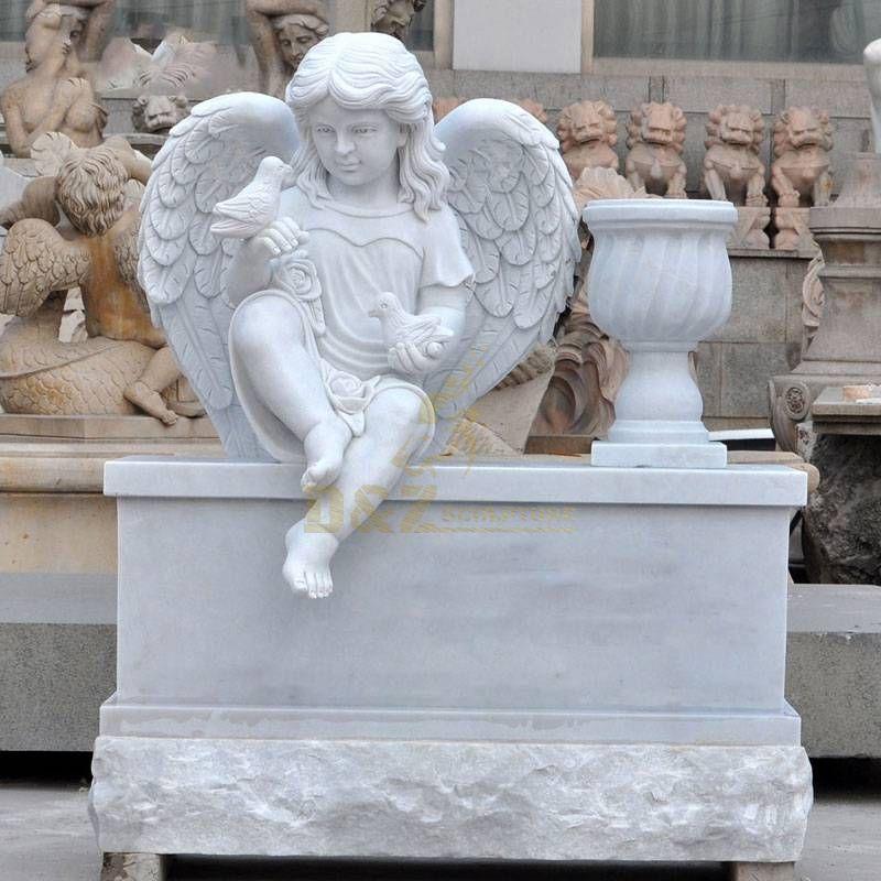 Cemetery Baby Angel Tombstone