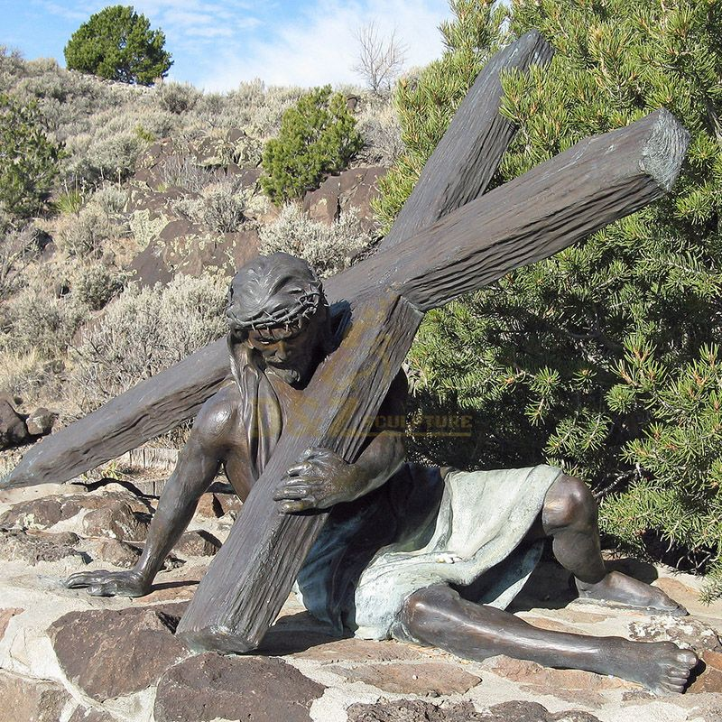 Bronze Life-Size Homeless Jesus Statues For Sale