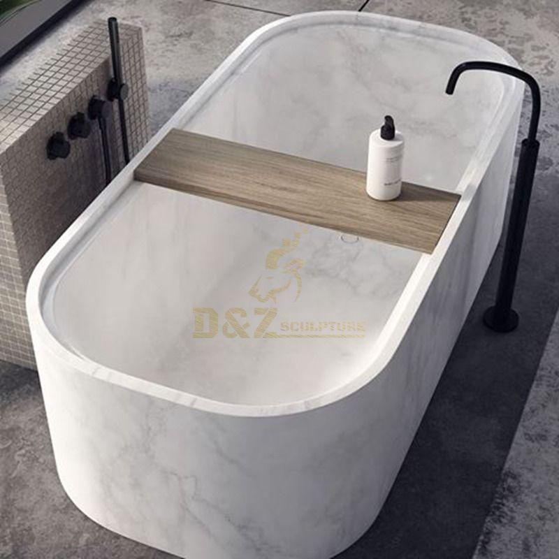 Italian Design Stone Freestanding Bathtub