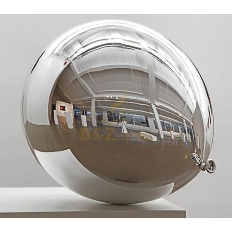 Metal mirror sculptor home decoration stainless steel