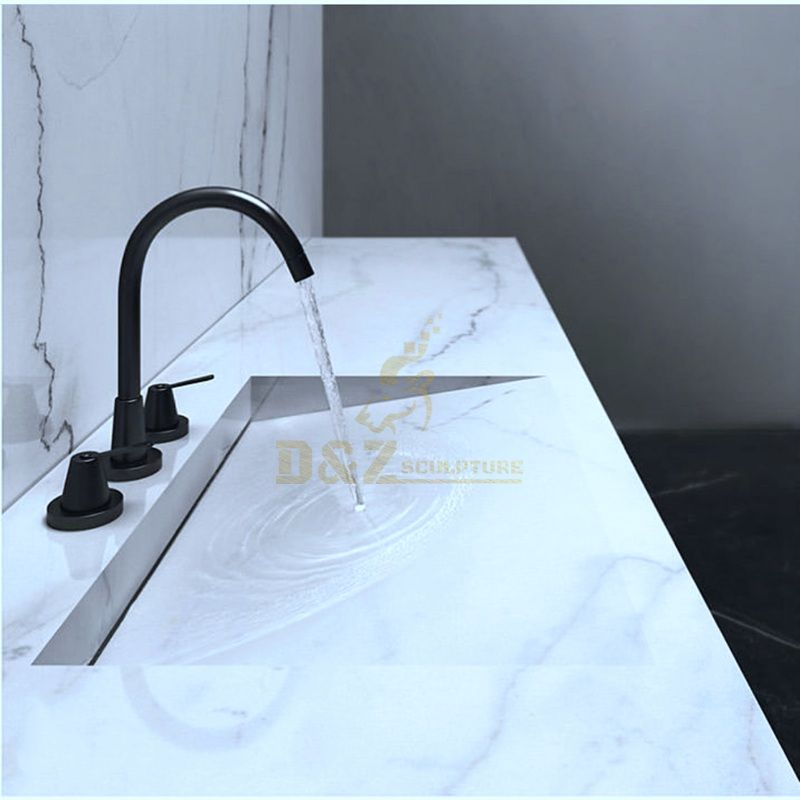 European Simple Design Solid Surface Stone Sink
