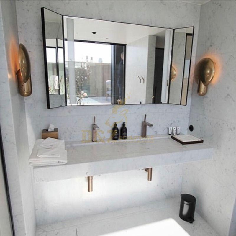 Polished Marble Granite Stone Bathroom Sink