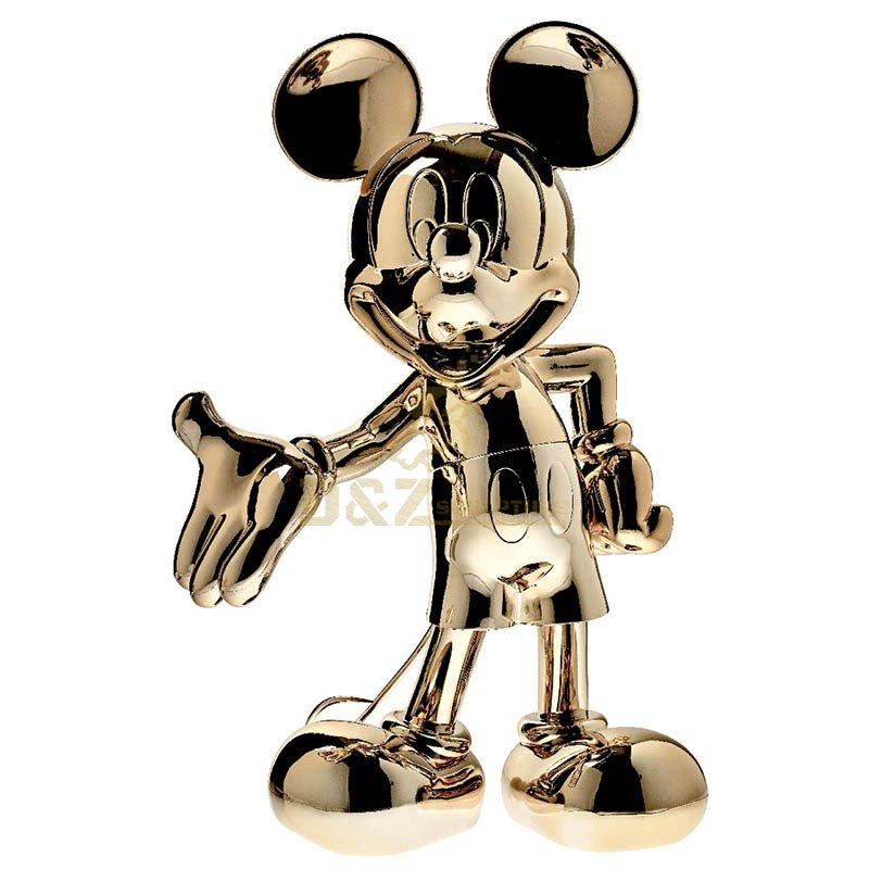 Stainless steel Mickey mouse sculpture