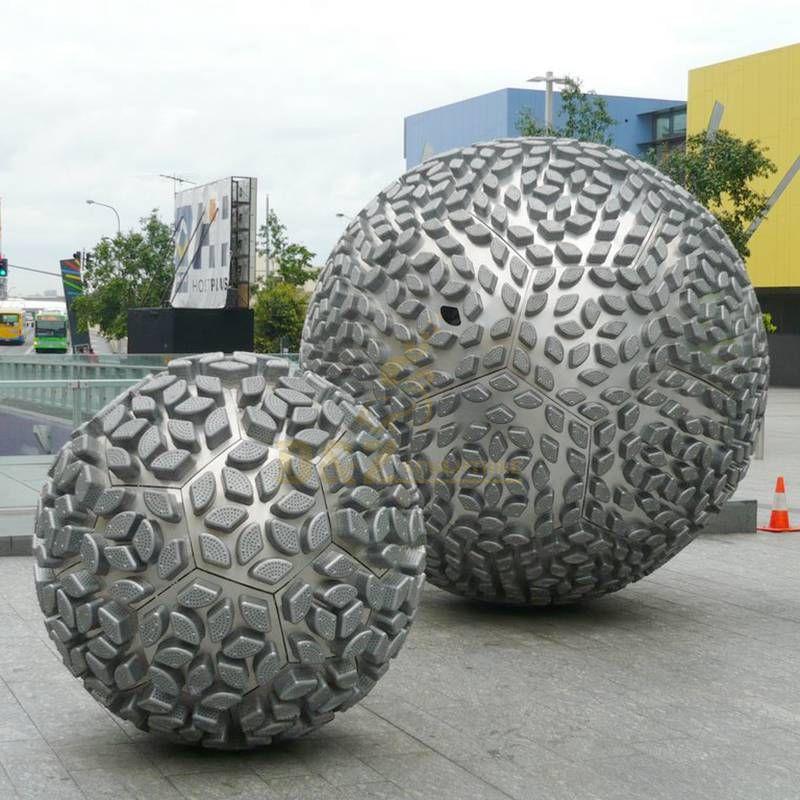 Metal Ball Garden Stainless Steel Sculpture
