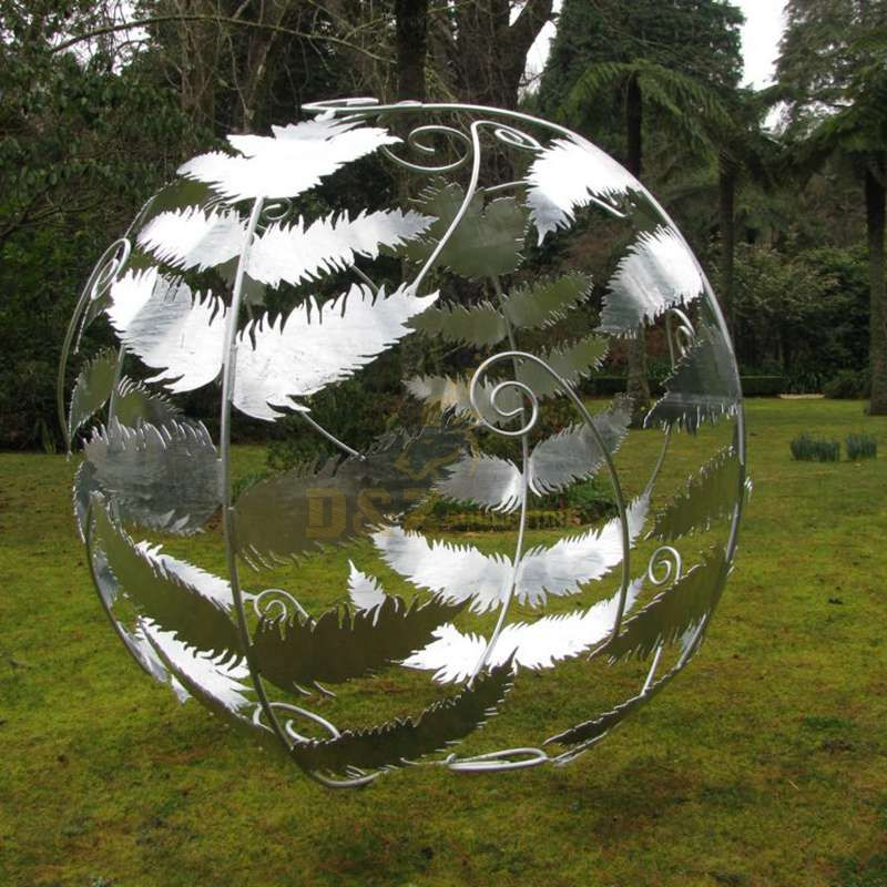 Welding Crafts Stainless Steel Ball Sculpture