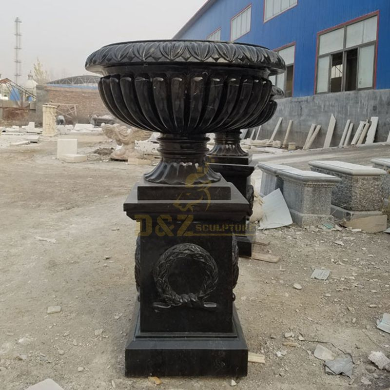 Colorful Large Flowerpot For Outdoor Decoration