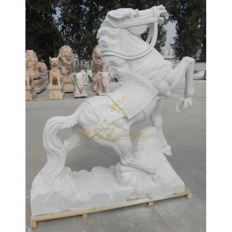 Popular Design Stone Horse Garden Statue