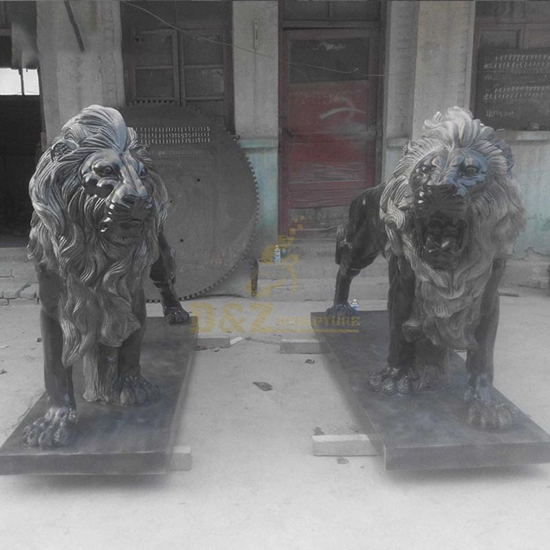 Hand Carved Marble Various Animals Statues Of Lion