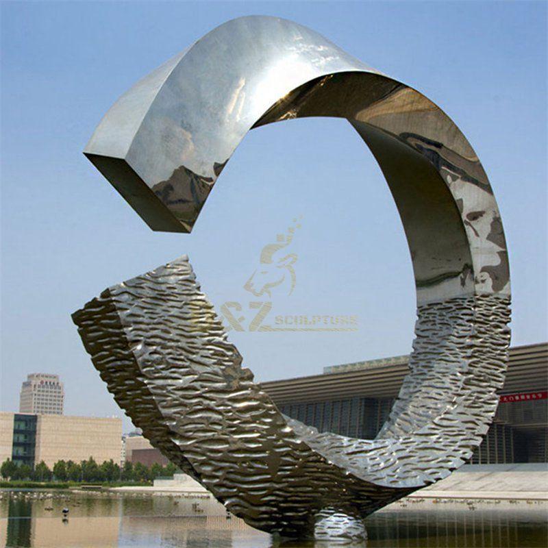 Metal Sculptures Landmark Larger Stainless Steel Sculpture