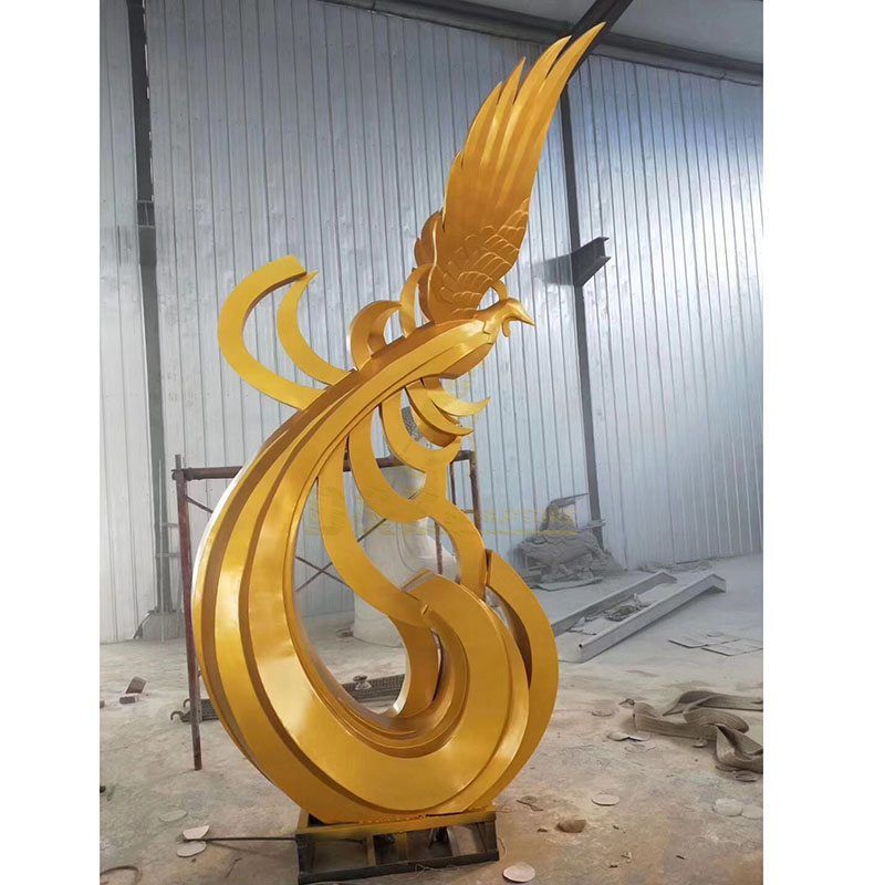 Stainless Steel Metal Outdoor Animals Sculpture