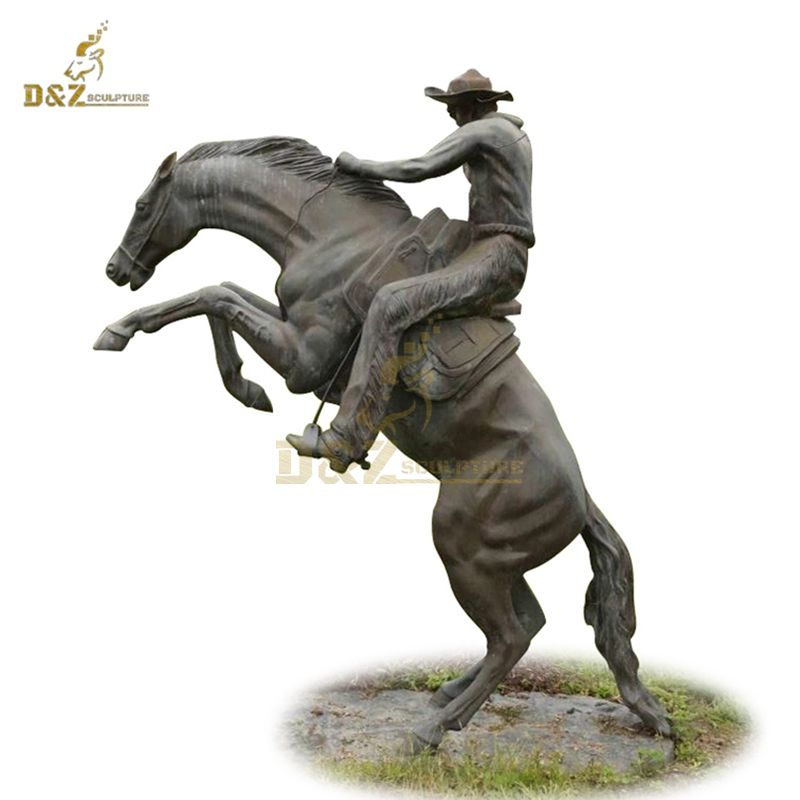 Large size horse soldiers bronze casting statue sculpture