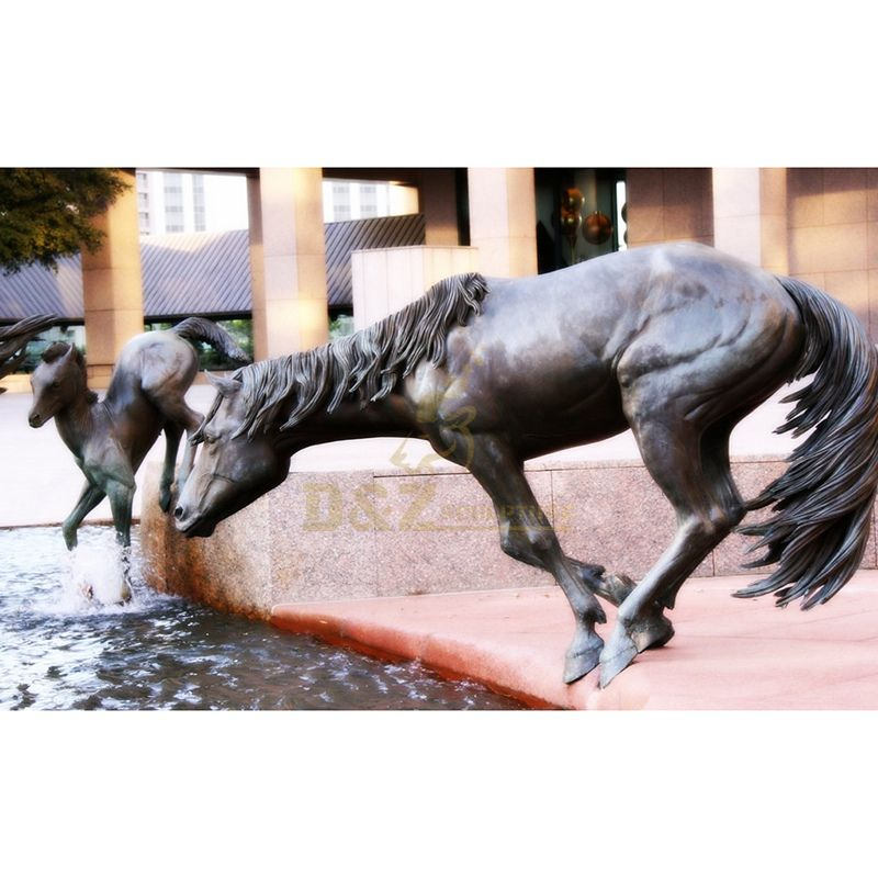 Outdoor Decor Life Size Running Bronze Horse Statue Sculpture Outdoor Decor Life Size Running Bronze Horse Statue Sculpture