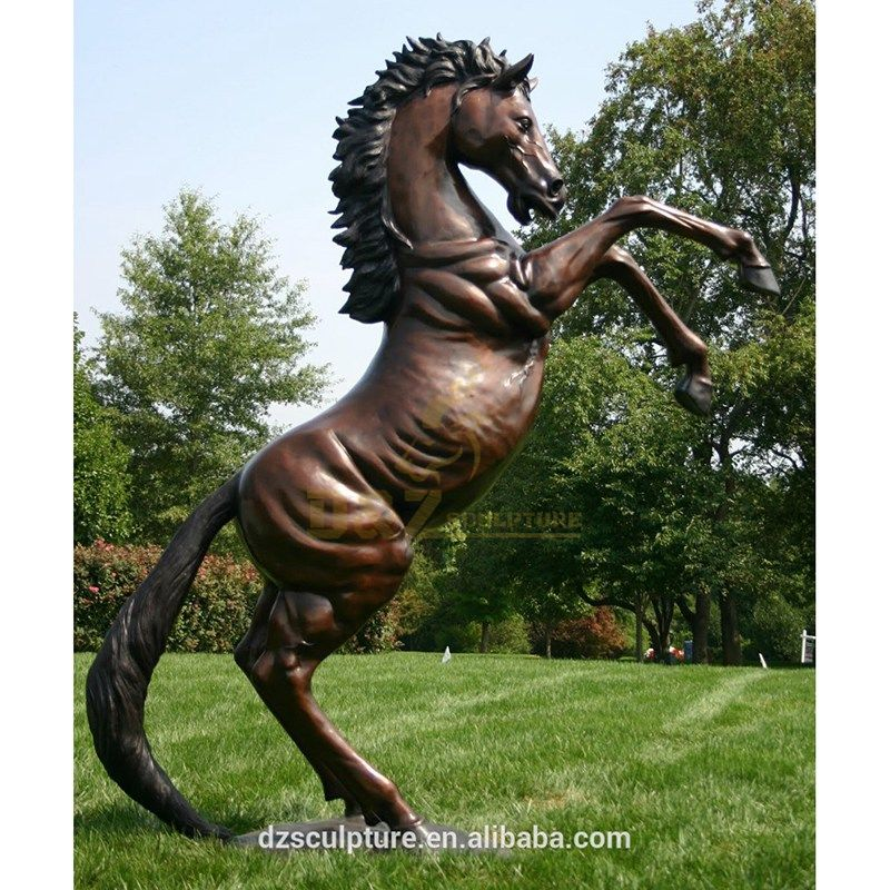 Greek Bronze Horse Sculpture Life Size Bronze Horse Statue For Sale