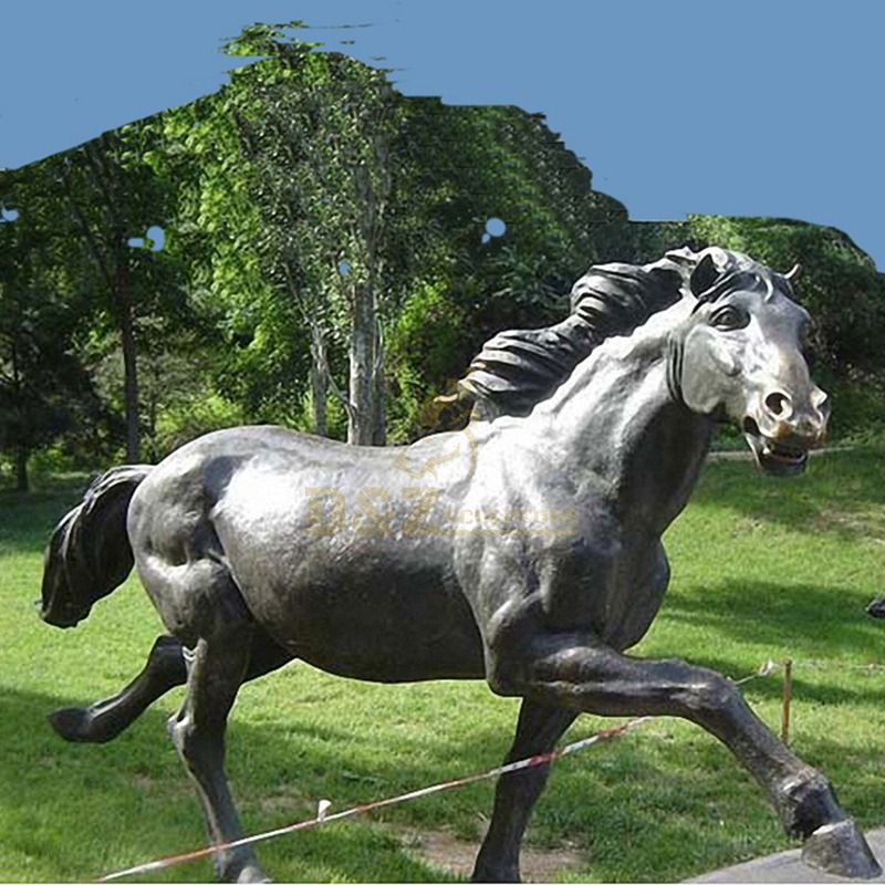 Hand carved popular horse sculpture animal statue