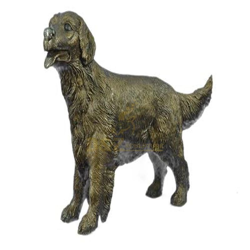 Hot New Products for New Black Bronze Dog Statue