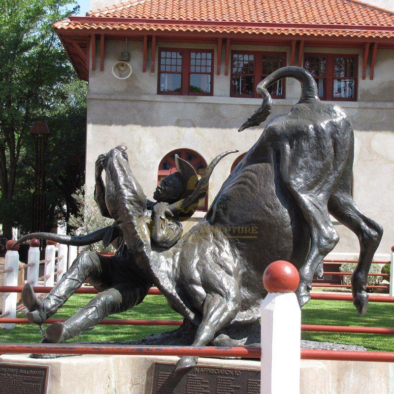 High Quality Decoration Cast Bronze Metal Cow Statue