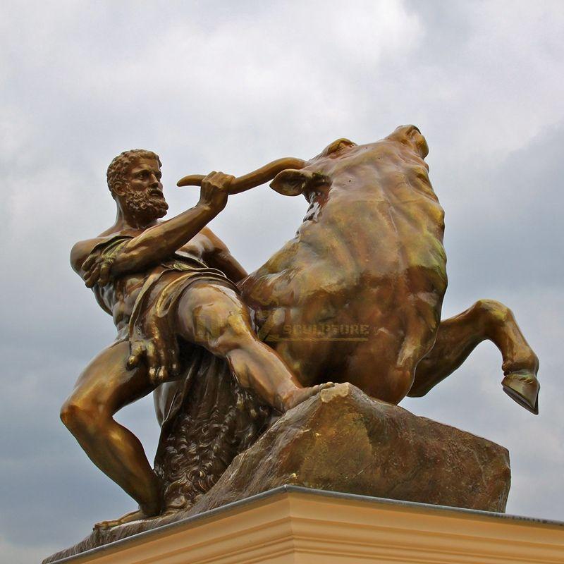 Modern Art Abstract Cow Bronze Statue