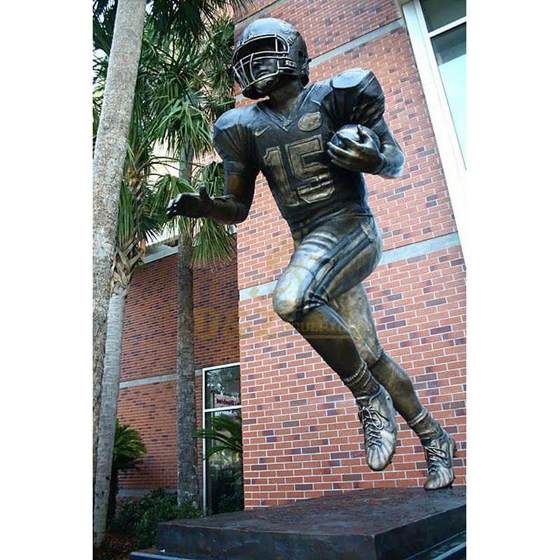 Large Life Size Outdoor Man Bronze Sculpture