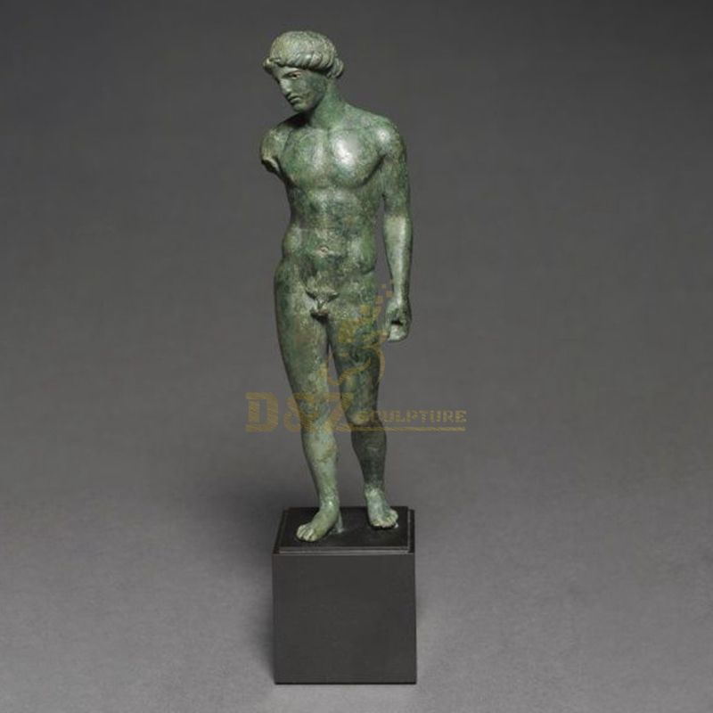Abstract Copper Bronze Indoor Human Sport sculpture