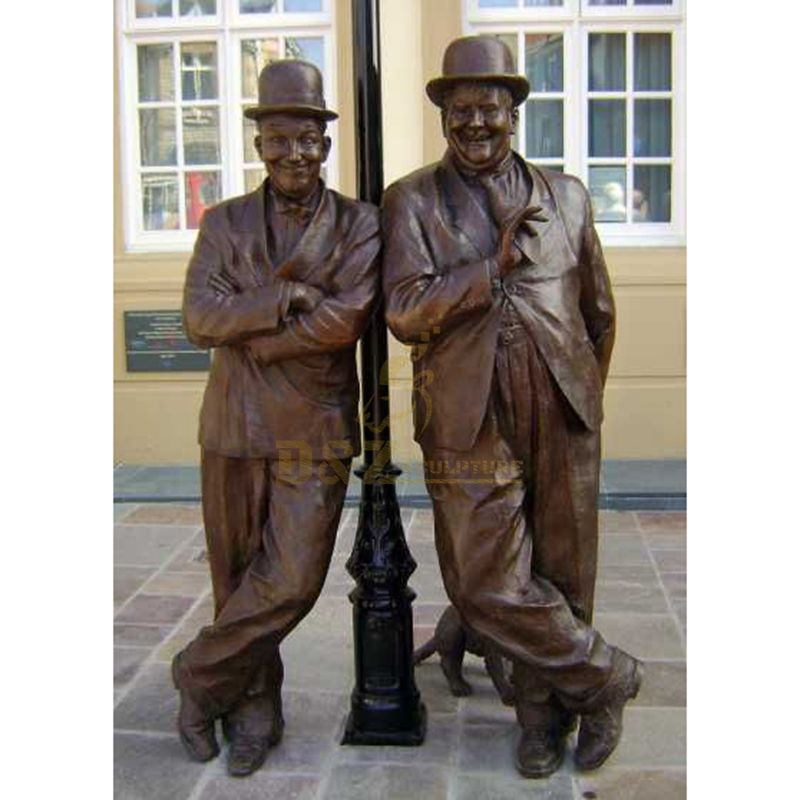 Martha Smith Brothers Large Outdoor Life Size Bronze Sculpture Statue Of Man