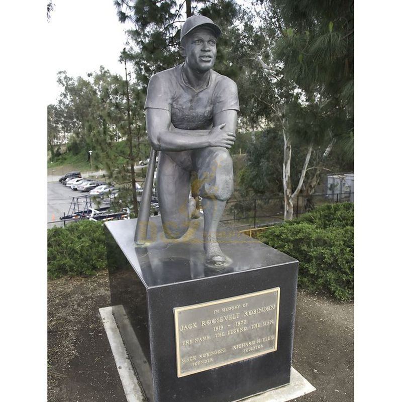 Garden sport athlete bronze statue sale