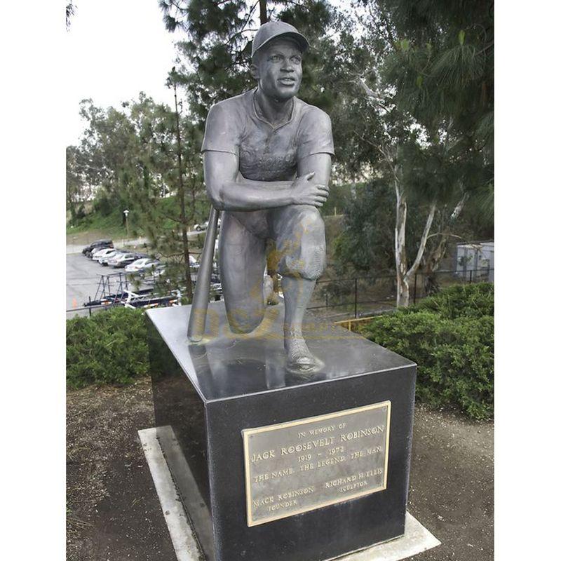 Garden sport athlete bronze statue sale