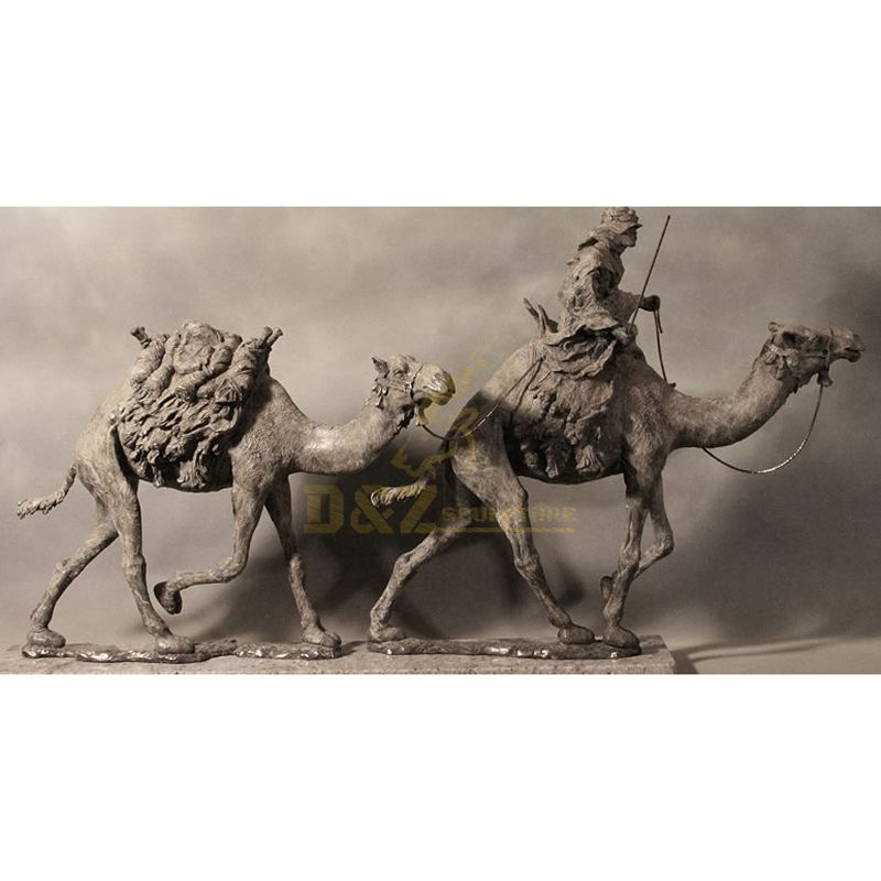 Bronze camel roman figure animal sculpture