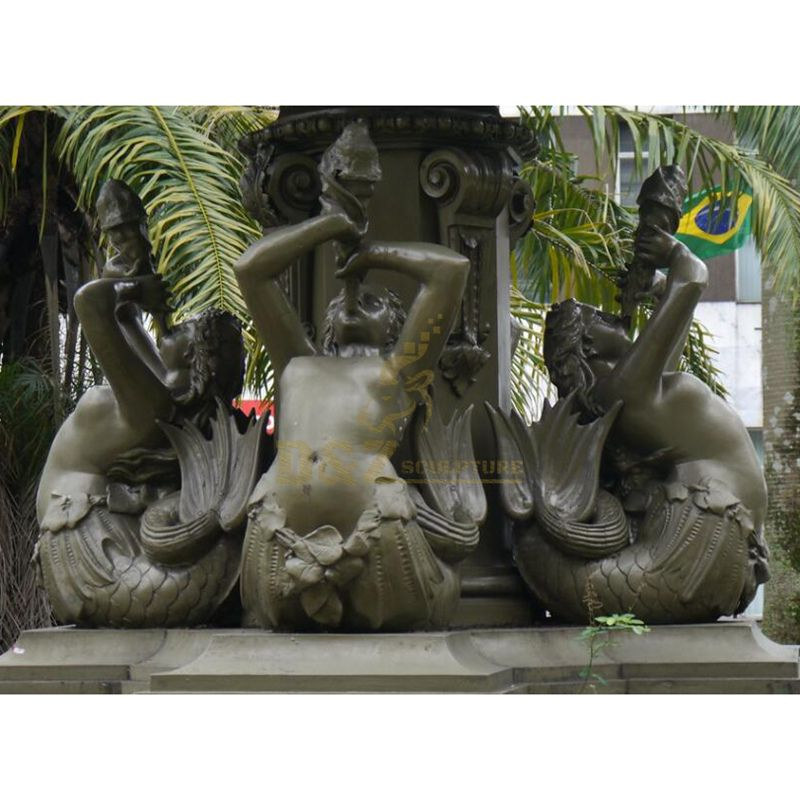 large large bronze mermaid sculpture statues for sale