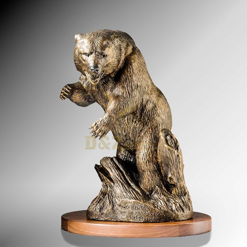 Bronze Casting Foundry Metal Craft Garden Bear Statue