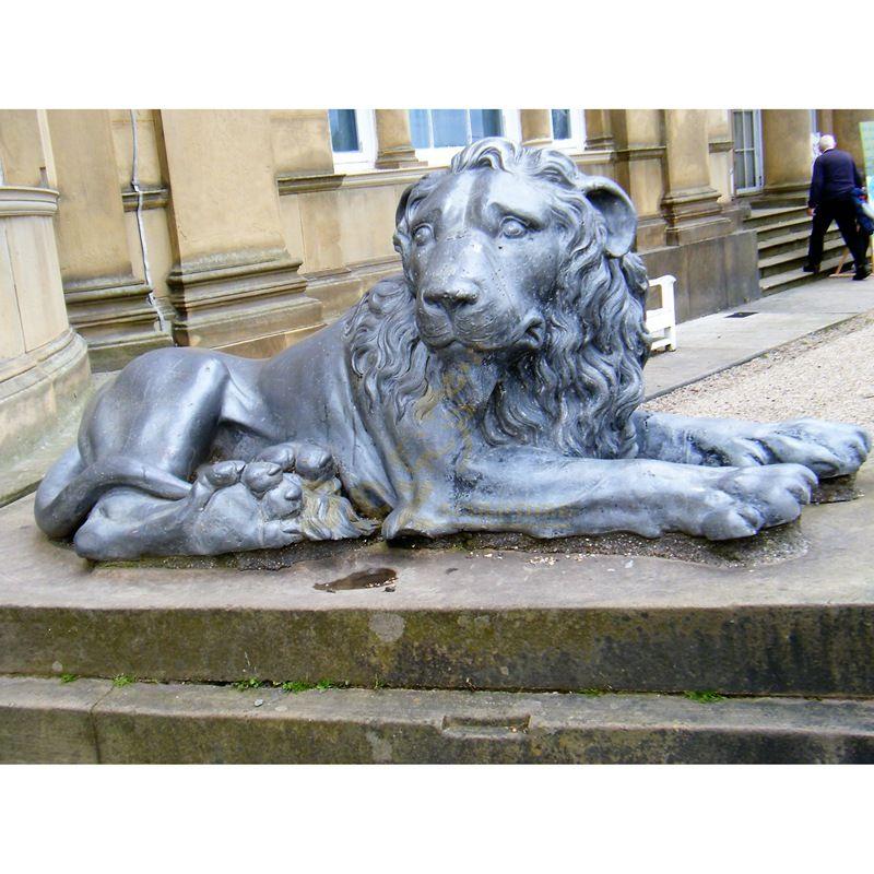 Hand Casting Factory Direct Sale animal lion bronze sculpture