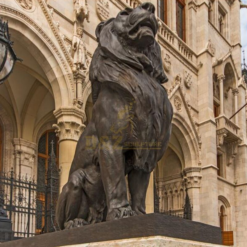 High quality large best prices life size bronze lion sculpture